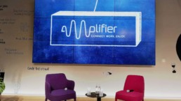 Amplifier-Bühne
